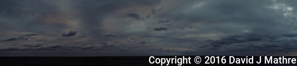Dreary Dawn Panorama from the aft deck of the MV World Odyssey. Crossing the North Pacific Ocean from Hawaii to Japan. Fuji X-T1 camera and 23 mm f/1.4 lens (ISO 200, 23 mm, f/5.6, 1/125 sec). (David J Mathre)