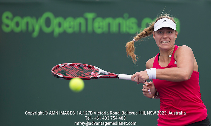 ANGELIQUE KERBER (GER) Tennis - Sony Open -  Miami -   ATP-WTA - 2014  - USA  -  24 March 2014.  © AMN IMAGES (FREY/FREY- AMN Images)