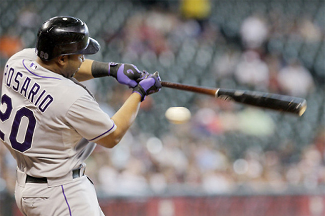 Wilin Rosario remolca el triunfo de los Rockies