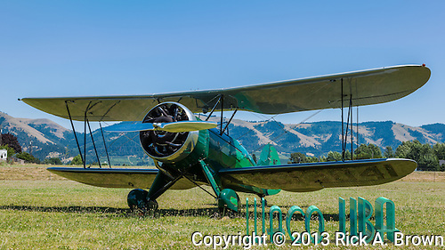 1932 Waco UBA at WAAAM. (Rick A. Brown)