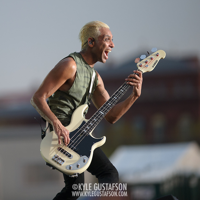 WASHINGTON, D.C. - April 18th, 2015 - Tony Kanal of No Doubt performs at the Global Citizen 2015 Earth Day concert on the National Mall in Washington, D.C. (Photo by Kyle Gustafson / For The Washington Post) (Kyle Gustafson/For The Washington Post)