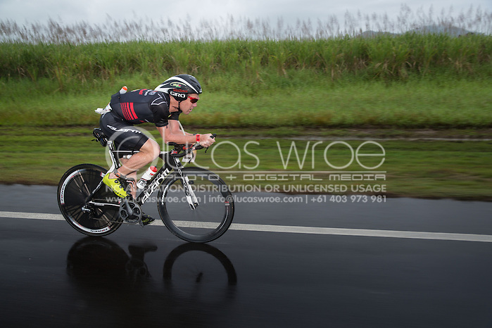Cameron Brown (NZL), June 8, 2014 - TRIATHLON : Ironman Cairns 70.3 / Cairns Airport Adventure Festival, Palm Cove - Captain Cook Highway - Cairns Esplanade, Cairns, Queensland, Australia. Credit: Lucas Wroe (Lucas Wroe)