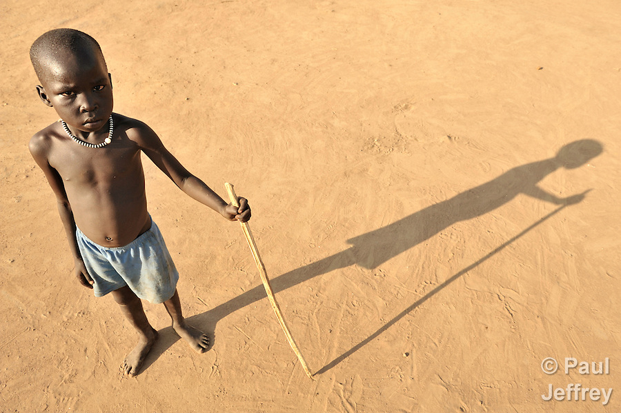 A boy in Yei, Southern Sudan.