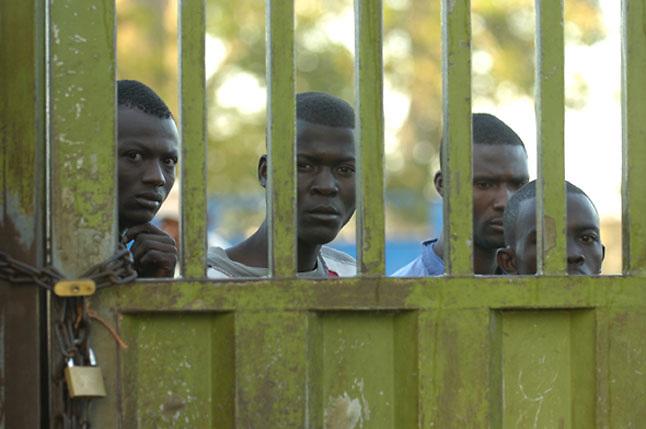 Haitianos en la frontera con República Dominicana, en la zona de Dajabón (Noroeste dominicano). Acento.com.do
