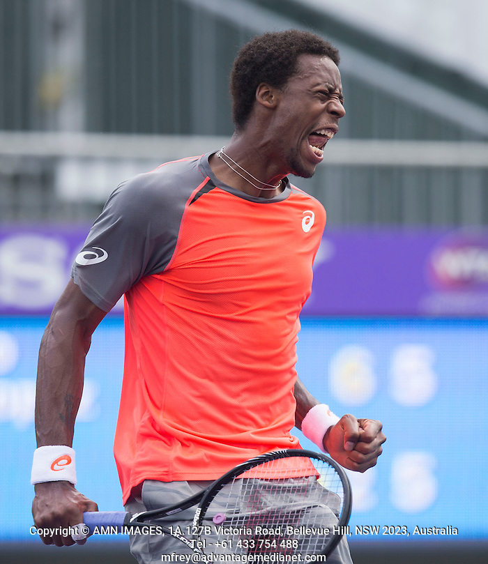 GAEL MONFILS (FRA) Tennis - Sony Open - ATP-WTA -  Miami -  2014  - USA  -  22 March 2014.  © AMN IMAGES (FREY/FREY- AMN Images)