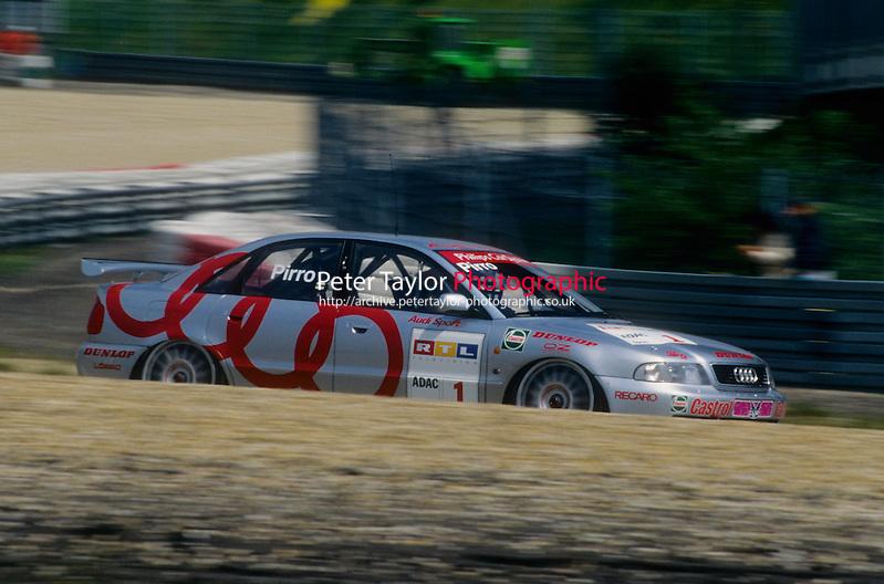 #1 Emanuele Pirro (ITA), A.Z.K./ROC, Audi A4 Quattro