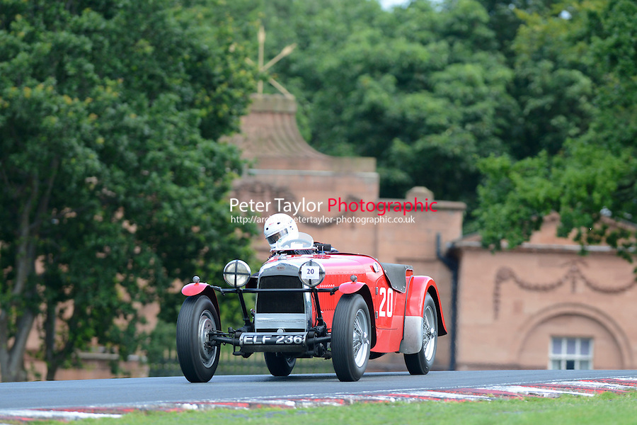 #20 Mitchell (Andrew) A.C.W. HRG 1 1/2 LITRE 1496 1937 (Taylor/PSP)