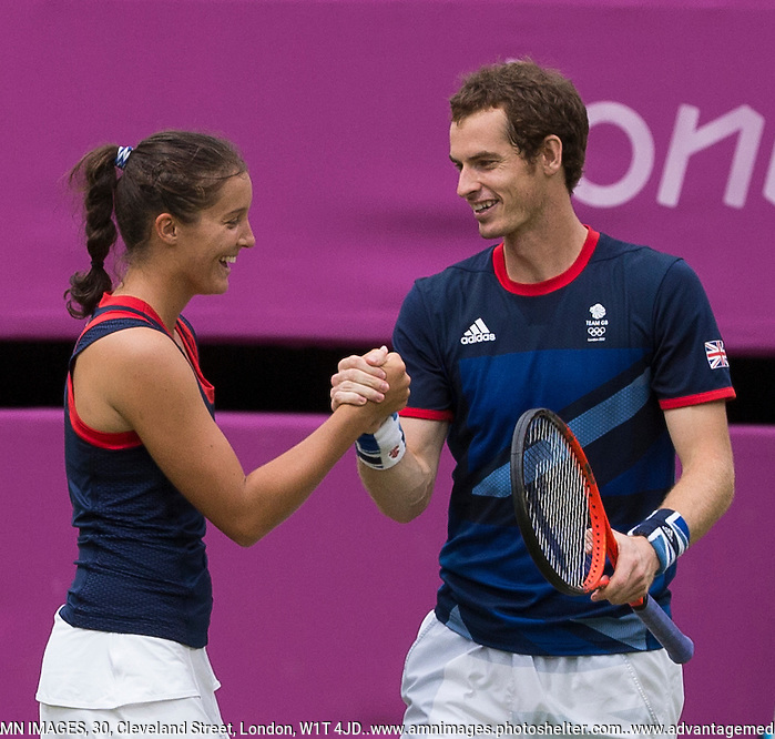..Tennis - OLympic Games -Olympic Tennis -  London 2012 -  Wimbledon - AELTC - The All England Club - London - Saturday 4th August  2012. .© AMN Images, 30, Cleveland Street, London, W1T 4JD.Tel - +44 20 7907 6387.mfrey@advantagemedianet.com.www.amnimages.photoshelter.com.www.advantagemedianet.com.www.tennishead.net (FREY - AMN IMAGES)
