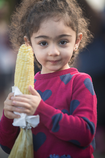 Four year old Sadeen Arkawi at the Alaska State Fair, Palmer, Alaska  iarkawy@slb.com (© Clark James Mishler)
