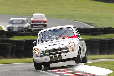 HSCC Gold Cup Oulton Park, Cheshire, United Kingdom.  28th-29th August 2011.  Race 11 HSCC ByBox Historic Touring Cars.  79 Mark Jones - Ford Lotus Cortina.  World Copyright: Peter Taylor/PSP. Copy of publication required for printed pictures. Every used picture is fee-liable. (Peter Taylor)