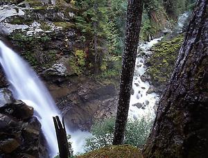 Nooksack Falls, Mt. Baker-Snoqualmie National Forest, Washington, US (Copyright Roddy Scheer)