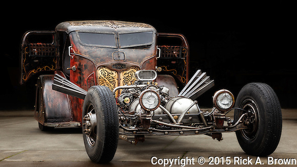 2015 Rat Rod Magazine buildoff champion at WAAAM. (Rick A. Brown)