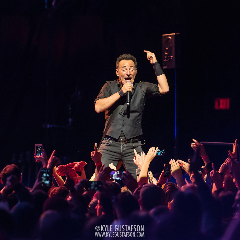 WASHINGTON, DC - January 29th, 2016 - Bruce Springsteen performs at the Verizon Center during Springsteen's The River 2016 Tour. Springsteen and the E Street Band are performing the seminal 1980 album in full on the tour. (Photo by Kyle Gustafson / For The Washington Post) (Kyle Gustafson/For The Washington Post)