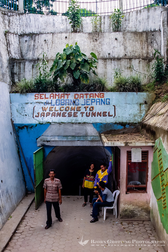 West Sumatra, Bukittinggi. Lobang Jepang (Japanese Caves) is a network of underground bunkers & tunnels built by the Japanese during World War II. (Photo Bjorn Grotting)