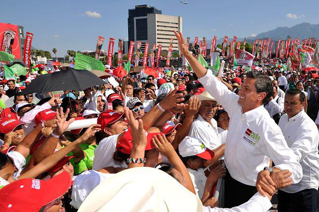 Peña Nieto, candidato del PRI, es el presidente electo de México