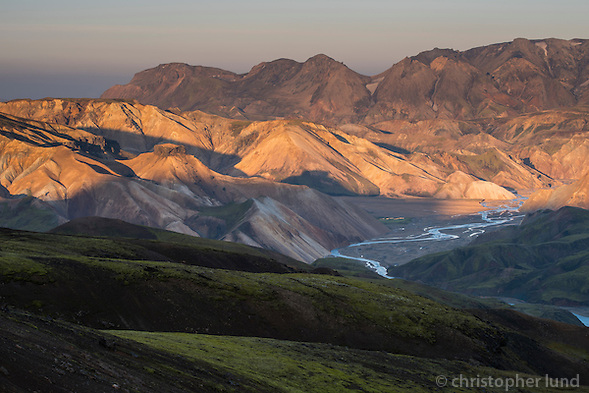 Jökulgil at sunset, Interior of Iceland. (Christopher Lund/©2014 Christopher Lund)