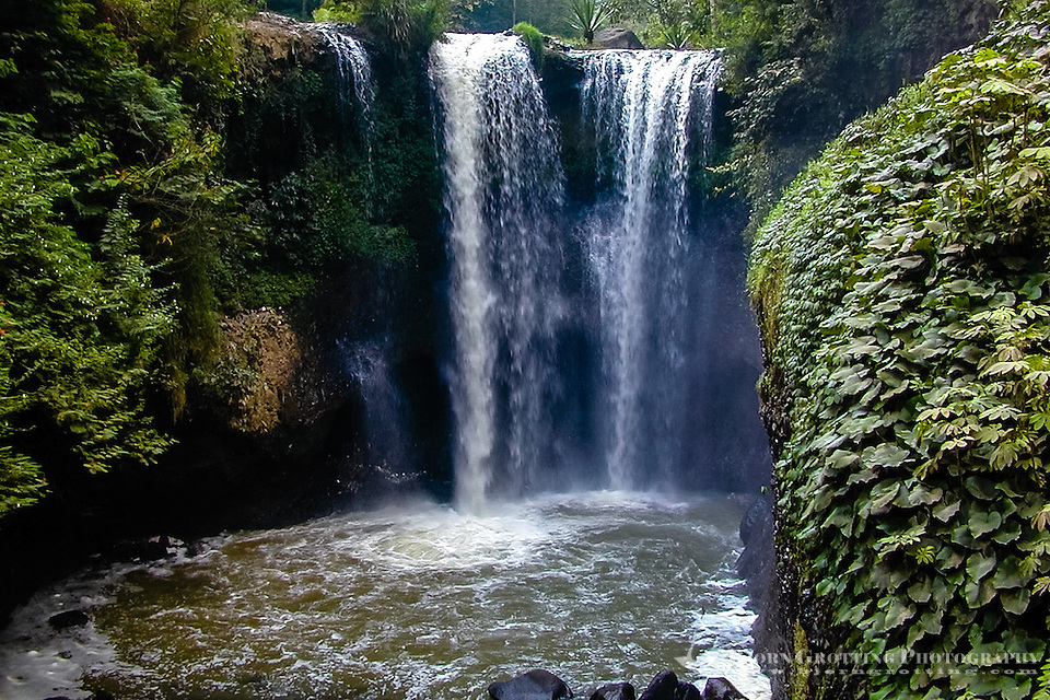 Indonesia, Java, Lembang. In Maribaya you will find waterfalls, hotsprings and a beautiful landscape. (Photo Bjorn Grotting)