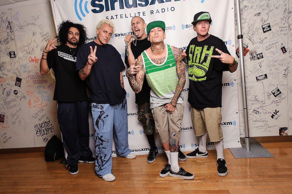 Portraits of the band Kottonmouth Kings at SiriusXM Studios, NYC. August 17, 2012. Copyright © 2012 Matthew Eisman. All Rights Reserved. (Photo by Matthew Eisman/ Getty Images)