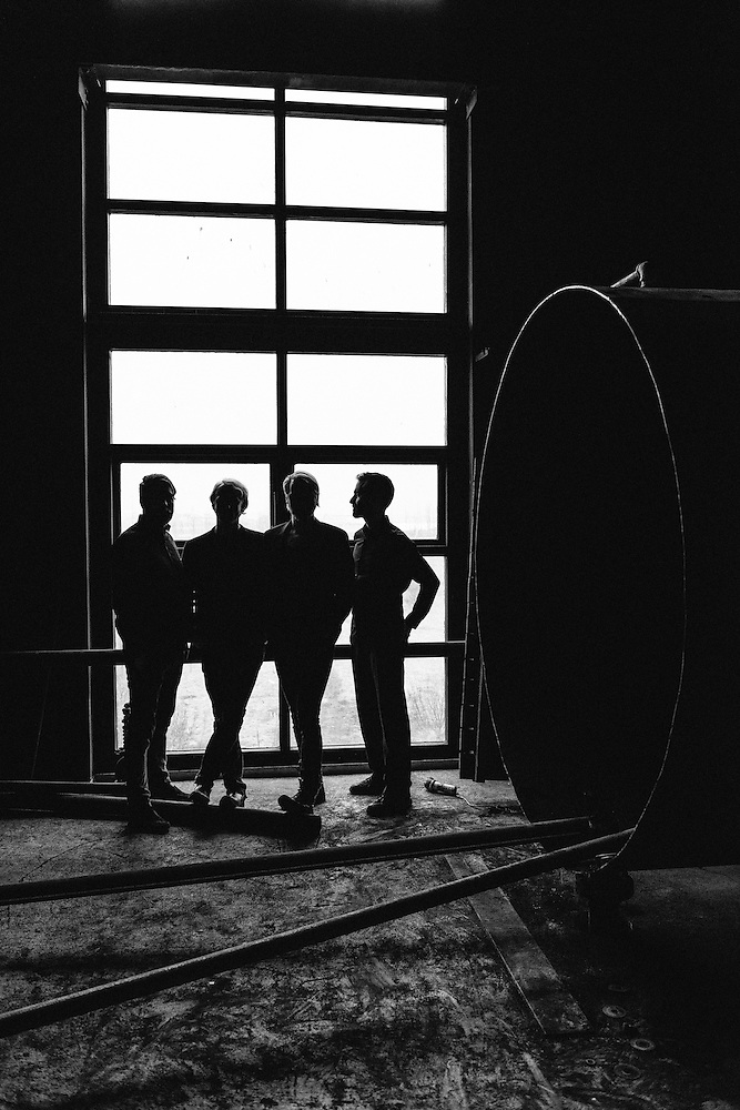 Portraits of the Icelandic band Árstídir taken on-location at Toppstödin power station in Reykjavík, Iceland. March 26, 2014. Copyright © 2014 Matthew Eisman. All Rights Reserved (Matthew Eisman/Photo by Matthew Eisman)