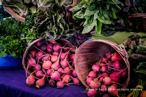 7.28.18 - Harvest Beets... (©David M Sax 2018 - all rights reserved)