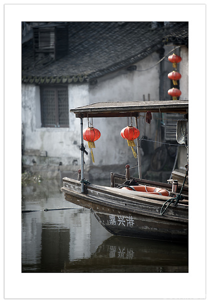 Boat in Xitang, Zhejiang, China (Ian Mylam/ Ian Mylam (www.ianmylam.com))