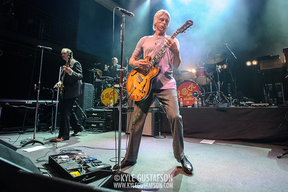 WASHINGTON DC - July 30th, 2013 - Celebrated English rock legend Paul Weller performs at the 9:30 Club in Washington, D.C. after a five year absence. (Photo by Kyle Gustafson) (Kyle Gustafson)