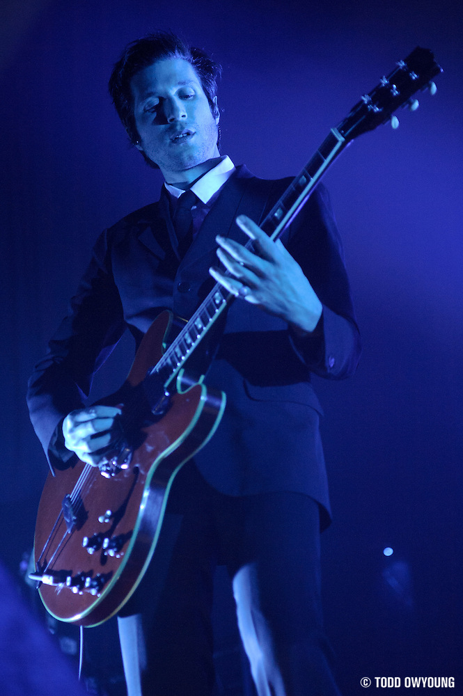 Photos of the band Interpol performing on February 11, 2011 at the Pageant in St. Louis. (Todd Owyoung)