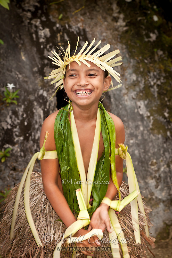 The traditional dances in Yap have no schedule and occur only when the people themselves decide to have a dance.  The Yap dancers are the most skilled and authentic Pacific dancers I have seen. The dancers include people of all ages, and everyone has a lot of fun, Yap Micronesia. (Photo by Matt Considine - Images of Asia Collection) (Matt Considine)