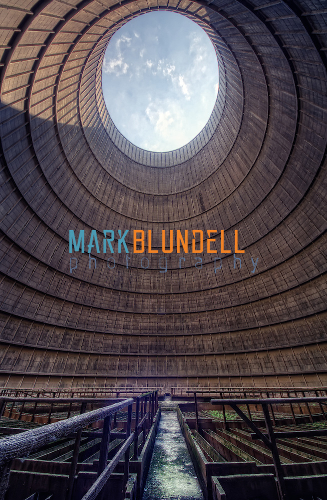 Power station cooling tower interior (Mark Blundell)