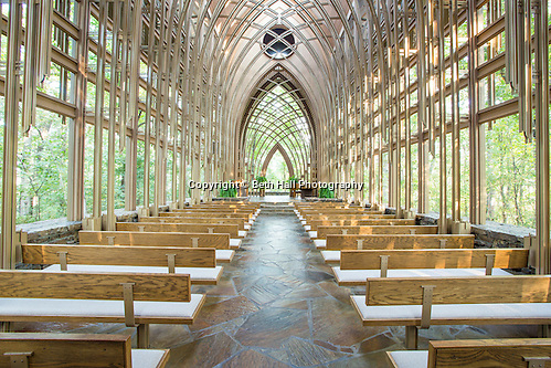 For the November 2014 issue of Money Magazine. The Mildred B. Cooper Memorial Chapel on Wednesday, Oct. 1, 2014, in Bella Vista, Ark. The chapel was designed by E. Fay Jones and constructed in 1988. Photo by Beth Hall (Beth Hall)