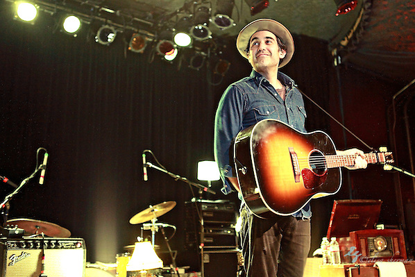 Joshua Radin performs on March 9, 2011 in support of &quot;The Rock and The Tide &quot; at the Showbox Market in Seattle, Washington (Elisa Sherman)