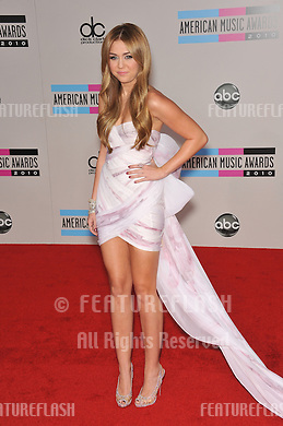 Miley Cyrus at the 2010 American Music Awards at the Nokia Theatre L.A. Live in downtown Los Angeles..November 21, 2010  Los Angeles, CA.Picture: Paul Smith / Featureflash (Paul Smith / Featureflash)