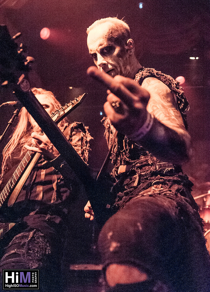 Behemoth on the 2012 Barge to Hell. (HIGH ISO Music, LLC)
