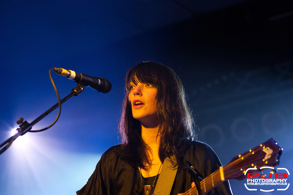 Sharon Van Etten Performing @ ATP - 2012 - Curated by The National (Peter J Butler)