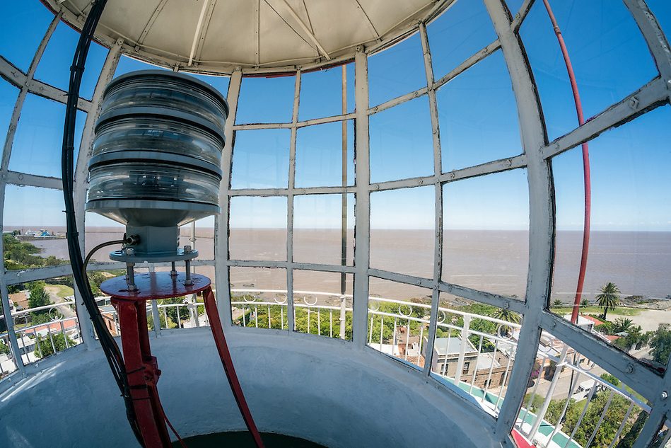 View from the lighthouse in Colonia del Sacramento, Uruguay. (Daniel Korzeniewski)