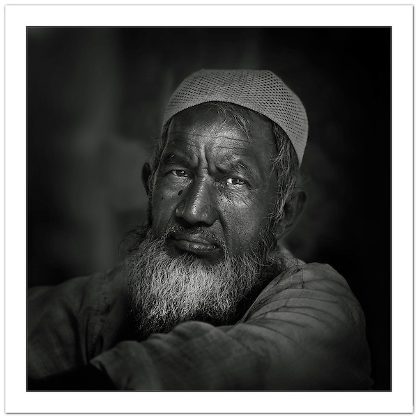 Street portrait, Old Delhi, India ( Ian Mylam)