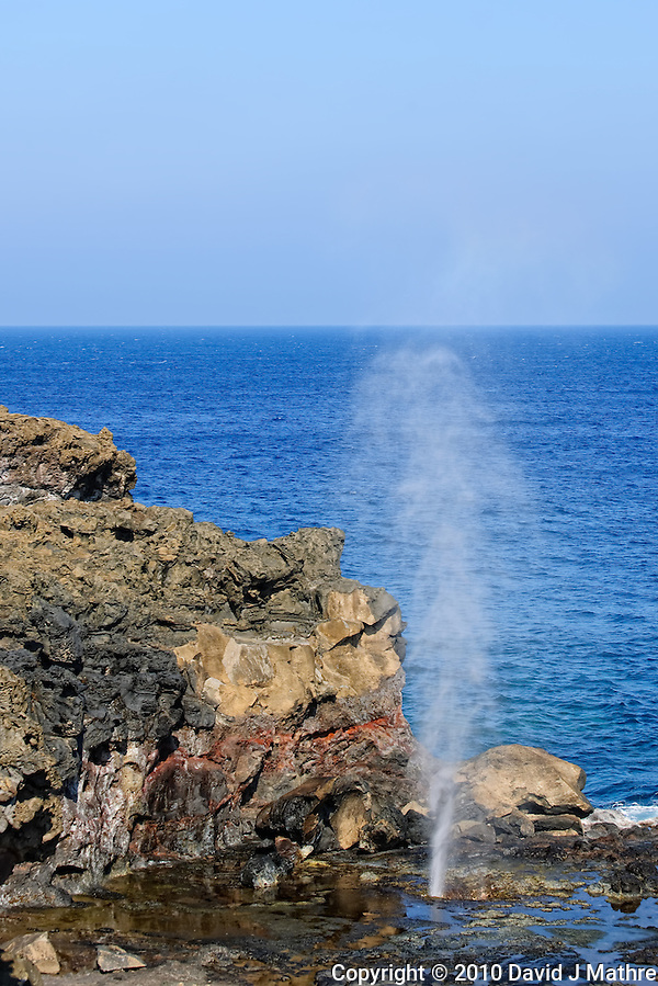 Nakelele Point, Nakalele Blowhole, Maui Hawaii. Image taken with a Nikon D3x and 70-300 mm VR lens (ISO 100, 70 mm, f/8, 1/200 sec). (David J Mathre)