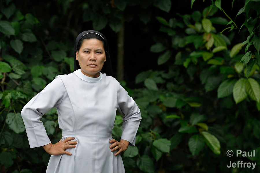Roman Catholic Sister Stella Matutina, OSB, has been detained by the military and threatened because of her work to protect the environment in Mindanao, the Philippines' southern island. Matutina is a member of the Order of Saint Benedict.. (Paul Jeffrey)