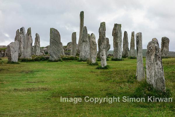 Callanish Stone Circle, Isle of Lewis, Outer Hebrides - Photo By Simon Kirwan