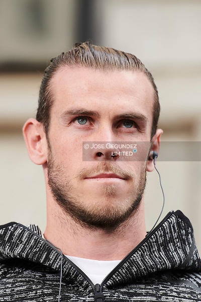 Gareth Bale attended the presentation of Z.N.E. Pulse Collection by Adidas at Adidas Store on September 15, 2017 in Madrid (©JOSE GEGUNDEZ)