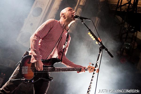 Alkaline Trio Live Concert @ Metro Chicago (Justin Gill)