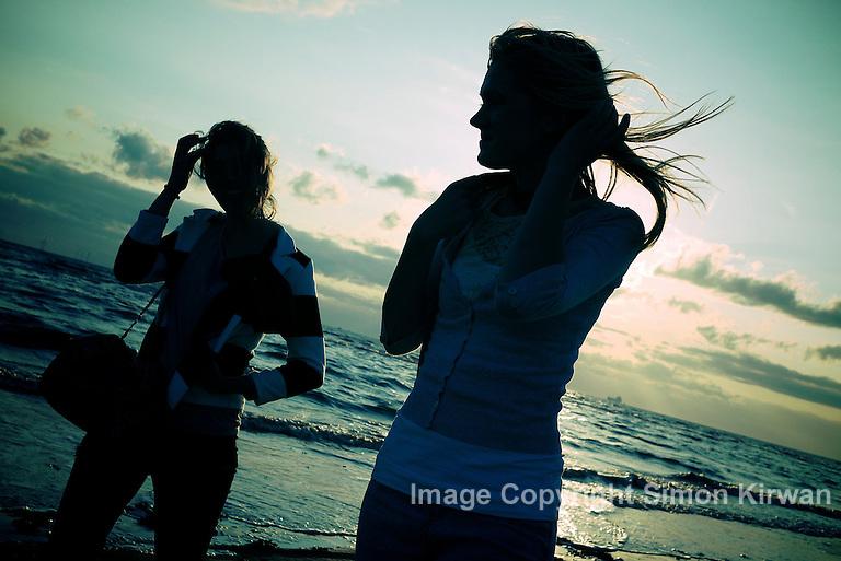 On the Beach - Summer 2010 - photo by Simon Kirwan