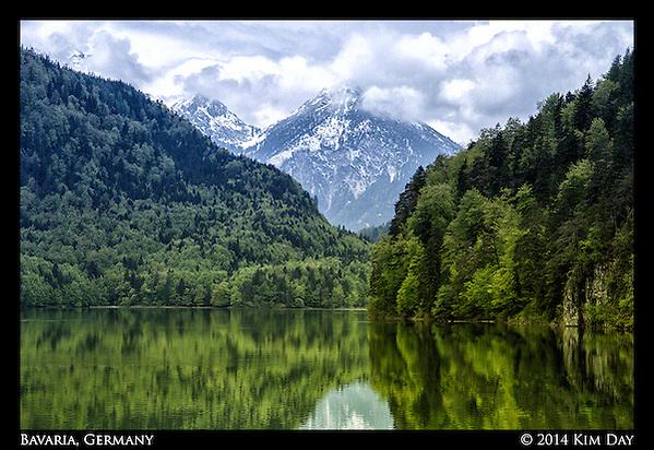 Alpsee Lake Hohenschwangau, Germany May 2014 (Kim Day)