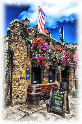 A view of the oldest pub in Ireland, The Brazen Head in Dublin which dates back to 1198. (Ian C Whitworth)