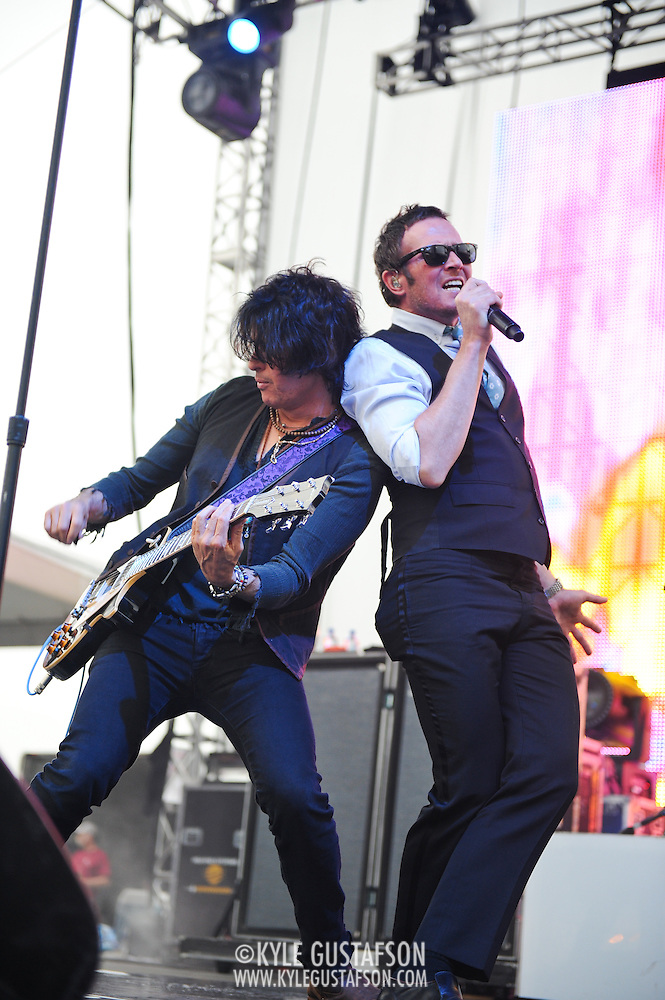 Washington, D.C. - A recently reunited Stone Temple Pilots headline the 2010 DC101 Chili Cookoff at RFK Stadium on the eve of the release of their self titled album. (Photo by Kyle Gustafson)
