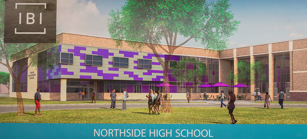 Bond community meeting to update construction plan at Northside High School, April 12, 2017. (Dave Einsel/Houston ISD)