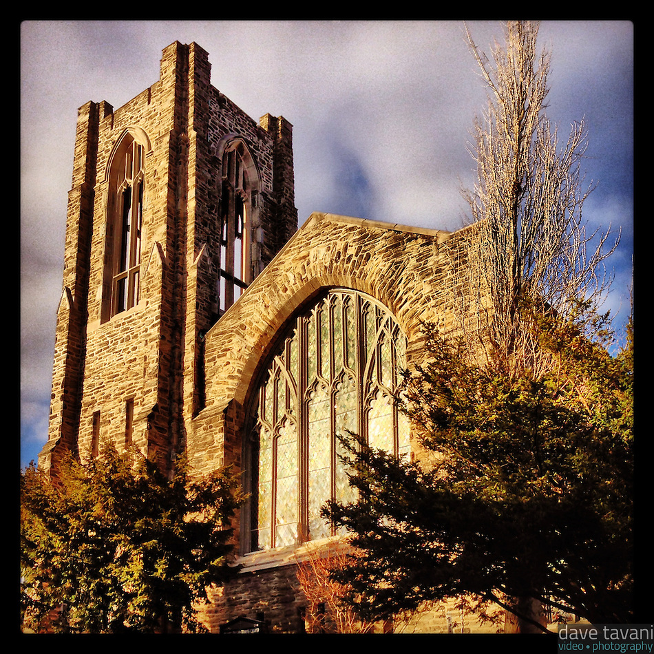 Summit Presbyterian Church in Mt. Airy basks in the afternoon sunlight on March 3, 2013. (Dave Tavani)