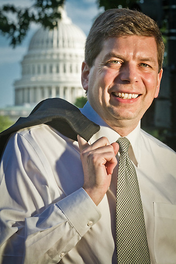 Senator Mark Begich, Washington, D.C. (Clark James Mishler)