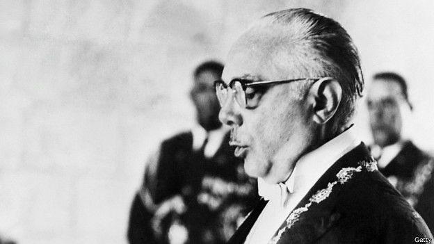 Rafael Trujillo Molina, dictador dominicano que gobernó de 1930 a 1961