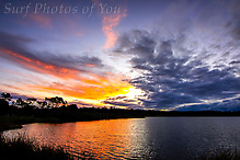 Sunset Dee Why Lagoon 1 April 2016 (Michael Kellerman)